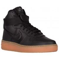 Nike Sportswear Air Force 1 High SE - Black/Dark Grey/Med Gum Brown - Ladies Casual Shoes