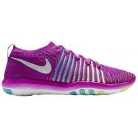 Nike Free Transform Flyknit - Women's Running Shoe - Hyper Violet/White/Gamma Blue/Hyper Turq