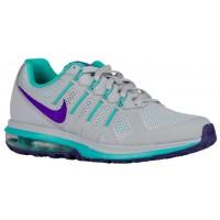 Nike Performance Air Max Dynasty - Women's Trainers - Wolf Grey/Clear Jade/Fierce Purple