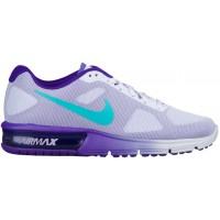 Nike Air Max Sequent - Women's Trainers - Palest Purple/Fierce Purple/Clear Jade