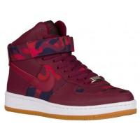 Nike Sportswear Air Force 1 Ultra Force Mid PRT Camo Print - Deep Garnet - Women's Shoes