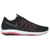 Nike Flex Fury 2 - Black/Hyper Pink/Anthracite/Metallic Hematite - Women's Running Shoes
