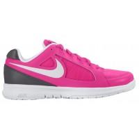 Nike Sportswear Air Vapor Ace - Women's Outdoor Ten'snis Shoe - Hyper Pink/Dark Grey/Gamma Blue/White