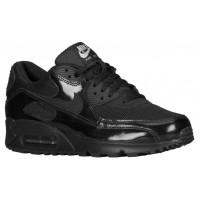 Nike Sportswear Air Max 90 - Women's Running Shoes - Black/Metallic Silver