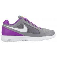 Nike Sportswear Air Vapor Ace - Women's Outdoor Ten'snis Shoe - Stealth/Hyper Violet/Laser Orange/White