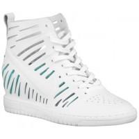 Nike Dunk Sky Hi Joli - Ladies Sneaker - White/Artisan Teal