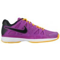 Nike Sportswear Air Vapor Advantage - Women's Outdoor Ten'snis Shoe - Hyper Violet/Laser Orange/White/Black