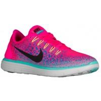 Nike Performance Free RN Distance - Hyper Pink/Blue Glow/Hyper Turquoise/Black - Women's Running Shoe