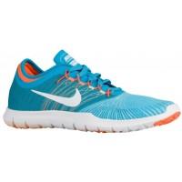 Nike Flex Adapt - Gamma Blue/White/Blue Lagoon/Total Orange - Women's Sports Shoes
