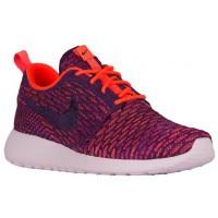 Nike Performance Roshe One Flyknit - Total Crimson/Purple/Vivid Purple - Women's Trainers