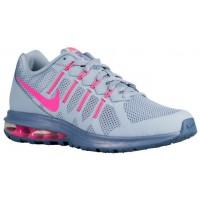 Nike Performance Air Max Dynasty - Blue Grey/Ocean Fog/Pink Blast - Ladies Neutral Running Shoes