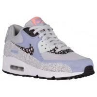 Nike Sportswear Air Max 90 Premium - Women's Running Shoes - Pure Platinum/Black/Fiberglass