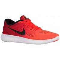 Nike Performance Free RN Hypernational - Women's Running Shoe - Total Crimson/Gym Red/White/Black