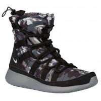 Nike Performance Roshe One Hi Print Winterized Women Sneakerboot - Black/Pure Platinum/Cool Grey/Dark Grey