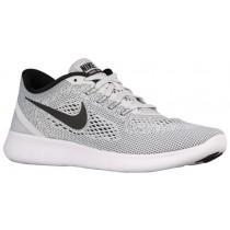 Nike Performance Free RN - White/Pure Platinum/Black - Men's Running Shoe