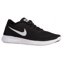Nike Free RN - Men's Trainers - Black/Anthracite/White
