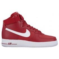 Nike Sportswear Air Force 1 High - Gym Red/White - Men's Sneaker