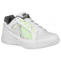 Nike Sportswear Air Vapor Ace - White/Volt/Night Silver - Men's Outdoor Tennis Shoe