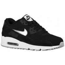 Nike Air Max 90 Essential - Black/White/Flight Silver/Metallic Silver - Men's Trainers