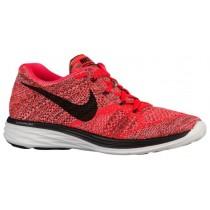 Nike Flyknit Lunar 3 - Men's Sneaker - Bright Crimson/Hyper Orange/Summit White/Black