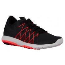 Nike Performance Flex Fury 2 - Men's Running Shoes - Black/University Red/Total Crimson