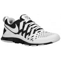 Nike Free Trainer 5.0 Weave - Men's Running Shoe - White/Black