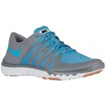 Nike Free Trainer 5.0 V6 - Cool Grey/Stratus Blue/Pure Platinum/Blue Lagoon - Men's Running Shoe