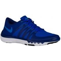 Nike Free Trainer 5.0 V6 - Men's Running Shoe - Deep Royal Blue/Racer Blue/Black/Photo Blue
