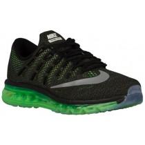 Nike Sportswear Air Max 2016 - Men's Trainers - Black/Voltage Green/Medium Olive/Reflective Silver