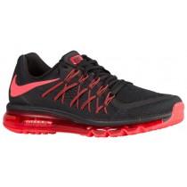Nike Air Max 2015 - Men's Running Shoes - Black/Bright Crimson