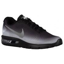 Nike Air Max Sequent - Men's Running Shoe - White/Black/Metallic Silver/Print