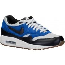 Nike Sportswear Air Max 1 Essential - Men's Running Shoes - Grey Mist/Black/Lyon Blue