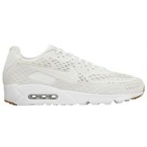 Nike Sportswear Air Max 90 Ultra - Pure Plat/Gum Lt Brown/Summit White - Men's Trainers