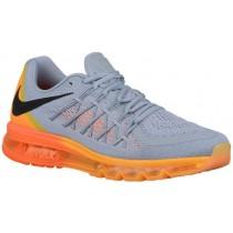 Nike Air Max 2015 - Wolf Grey/Total Orange/Laser Orange/Black - Men's Running Shoes