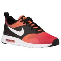 Nike Sportswear Air Max Tavas - Black/Bright Mandarin/University Red/White - Men's Running Shoes