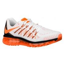 Nike Air Max 2015 - White/Black/Total Orange - Men's Running Shoes