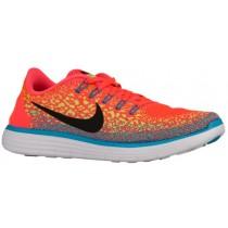 Nike Free RN Distance - Hyper Orange/Black/Volt/Blue Lagoon - Men's Training Shoe