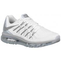 Nike Sportswear Air Max 2015 - White/Metallic Silver/Pure Platinum - Men's Trainers