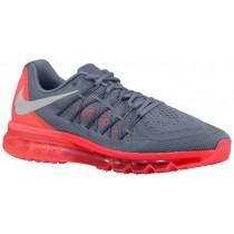 Nike Sportswear Air Max 2015 - Cool Grey/Hot Lava/Bright Crimson/White - Men's Shoes