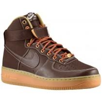 Nike Sportswear Air Force 1 High - Men's Shoes - Baroque Brown/Sail/Metallic Bronze