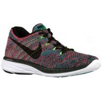 Nike Flyknit Lunar 3 - Men's Shoes - Radiant Emerald/Black
