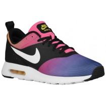 Nike Sportswear Air Max Tavas - Black/Pink Pow/Tour Yellow/White - Men's Trainers