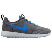Nike Roshe One Premium - Men's Trainers - Anthracite/Pure Platinum/Photo Blue