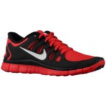 Nike Free 5.0+ - Men's Running Shoe - Gym Red/Black