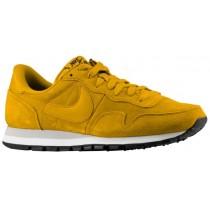 Nike Sportswear Air Pegasus '83 Suede - Men's Running Shoe - Gold Suede/Mortar/Black/Gold