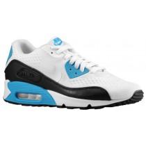 Nike Air Max 90 OG EM-Mesh - White/Black/Laser Blue - Men's Trainers