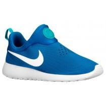 Nike Roshe One Slip On - Men's Trainers - Military Blue/Photo Blue/Turbo Green/White