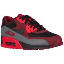 Nike Sportswear Air Max 90 Essential - Team Red/Black/University Red/Dark Grey - Men's Running Shoes