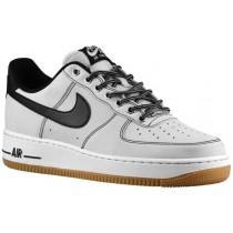 Nike Air Force 1 Low - Men's Sneaker - Pure Platinum/White/Gum Light Brown/Black