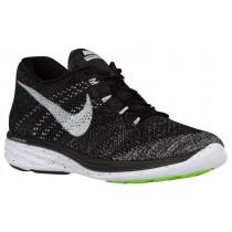 Nike Flyknit Lunar 3 - Black/Midnight Fog/Wolf Grey/White - Men's Sneaker